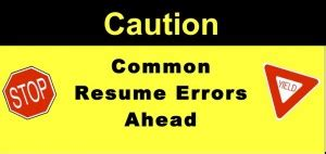 What is Avoid resume blunders? - Definition from WhatIscom