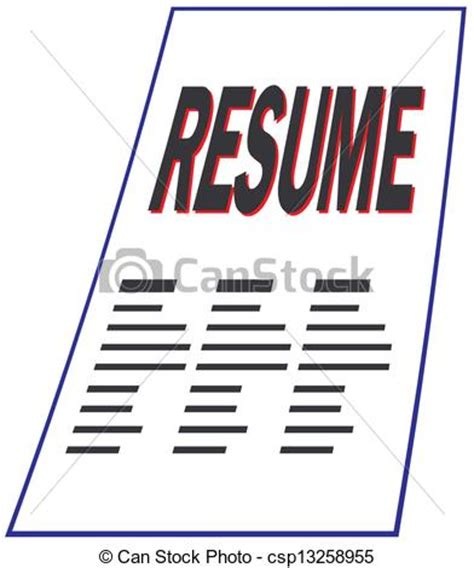 Steps in making a resume